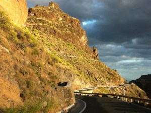 Gran Canaria Mountain Road