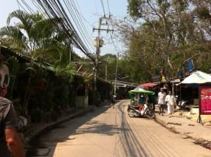 A street on Ko Samet