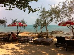A view of Ao Phai beach, Ko Samet, Thailand