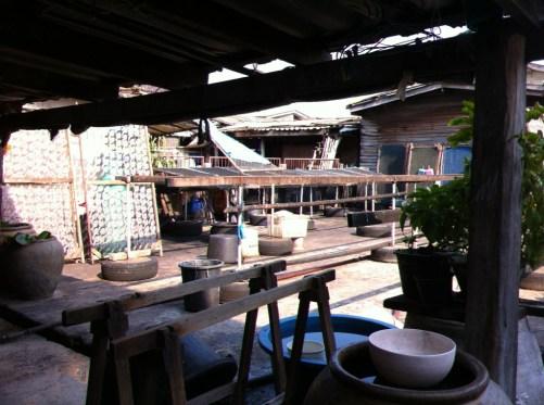 Ban Phe, fishing village on poles