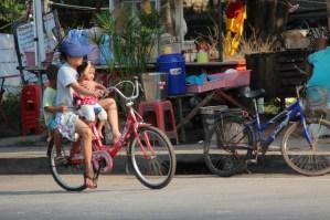 Cycling at Ban Phe