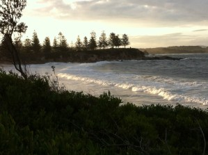 Evening light at Bermagui