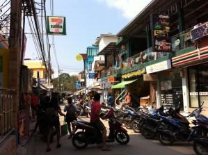 Street life at Ko Samet