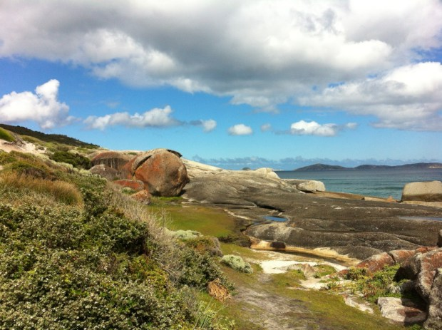 Melbourne to Sydney drive Wilsons Promontory