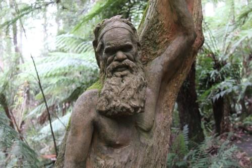 Statue at William Ricketts Sanctuary, Dandenong Ranges