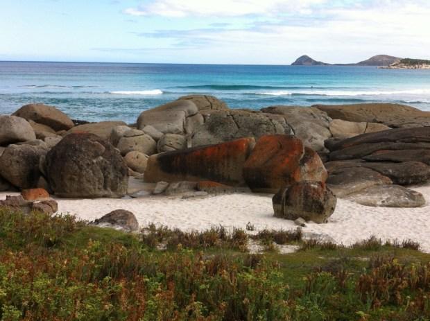 Stones on Squeaky Beach, Wilsons Promontory