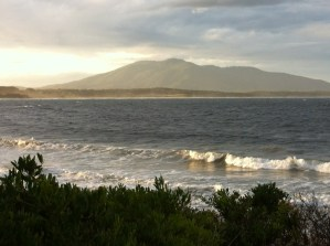 Sea view from Bermagui, New South Wales