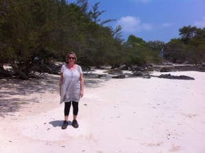 Walking along the beaches of Ko Samet