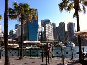 A view of Circular Quay, Sydney