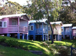 Rental cottages, Hyams Beach