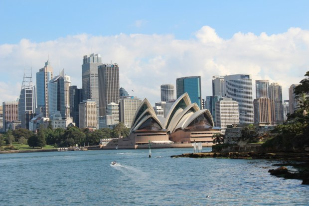 Sydney walking itinerary: Sydney Opera House