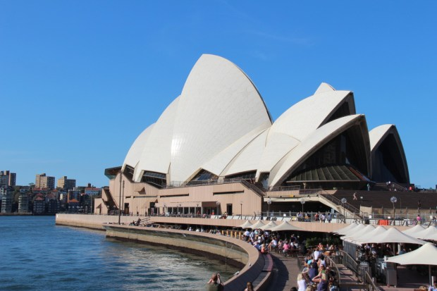 Sydney Opera House seen from Circular Quay