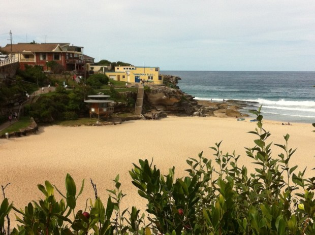 Tamarama Beach, Bondi to Coogee coastal walk
