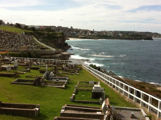 Bondi to Coogee coastal walk, Waverley Cemetery
