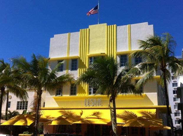 Bike riding on Miami Beach: Ocean Drive