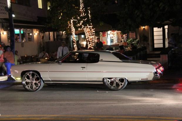 Ocean Drive car, Miami