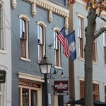 A house in Old Town Alexandria, Virginia