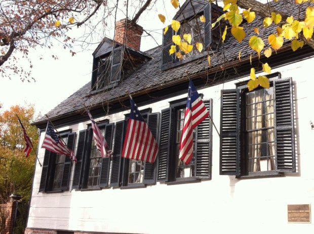 An old house, day trip to Old Town Alexandria
