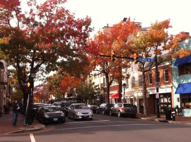 Washington Day Trip to Old Town Alexandria, King Street
