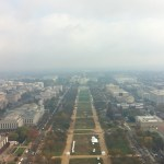 National Mall from Washington Memorial, Washington DC