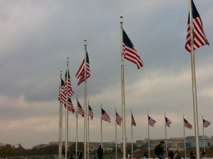 US Flags, Washington Memorial, Washington DC