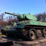 An old tank, Gdansk