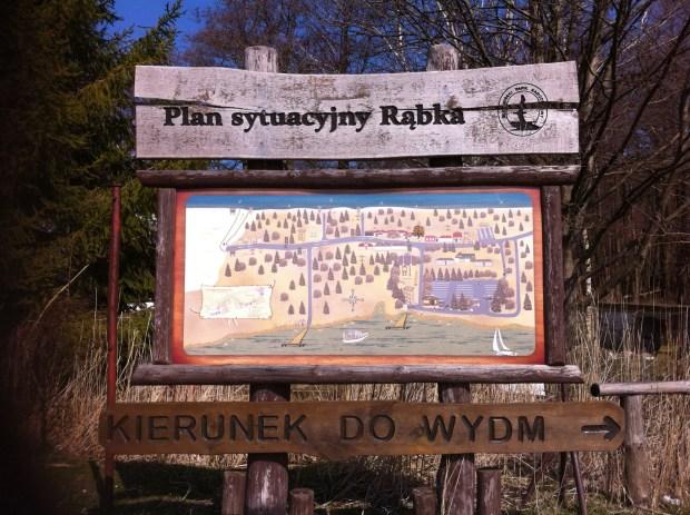Map of Rabka, Slowinski National Park