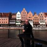 On the riverbank of Motlawa, Gdansk