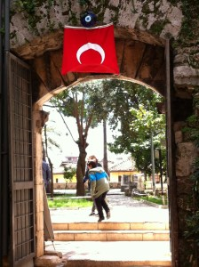 A gate in Antalya Old Town