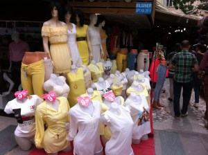 A shop in Antalya