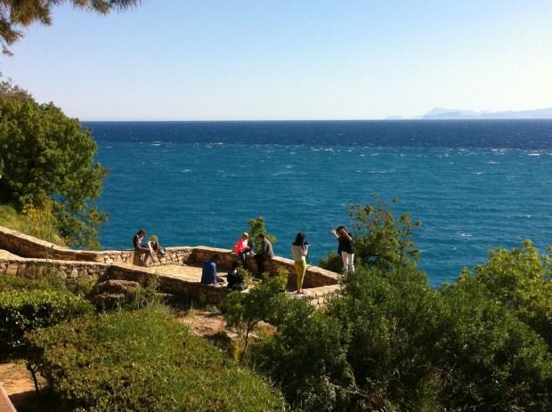 An Antalya sea view