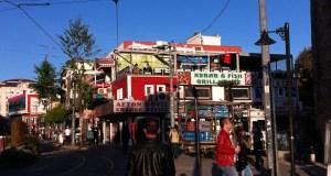 Street life in Antalya, Turkey