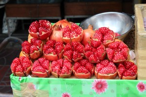 Fruits on Chinatown Market, Bangkok