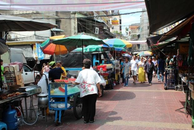 Street life in Chinatown, Bangkok