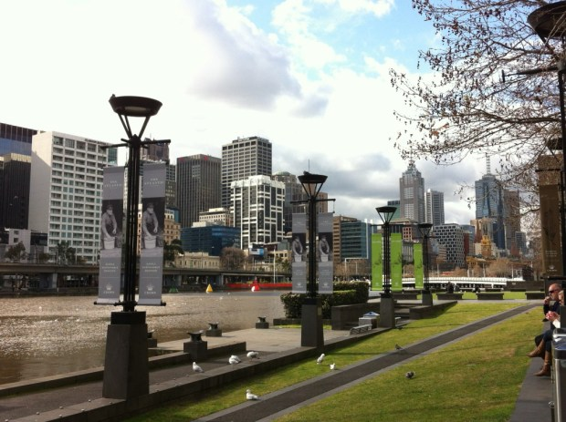 Southbank Promenade and the Yarra River