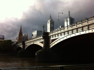 Yarra River bridge, Melbourne