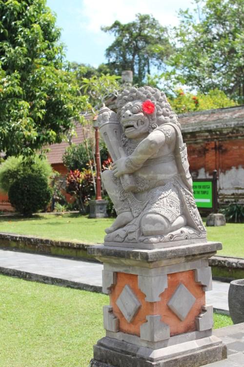 A statue in Bali