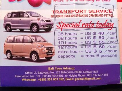 Bali Tour Advisor