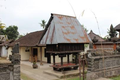 Storage houses in Bali