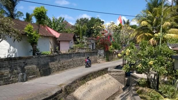 Village street, Bali