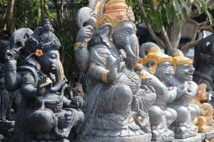 Bali statues