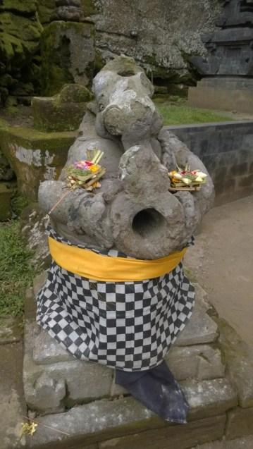 Goa Gajah elephant statue