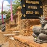 I Wayan Mardiana painter Batuan Bali