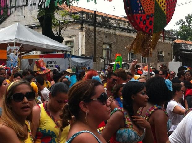 Olinda Carnival parade 2012