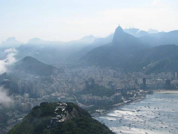 View from Sugar Loaf, Rio de Janeiro