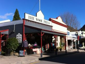 Arrowtown shopping street