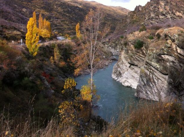 Kawarau Gorge from Goldfields Mining Centre