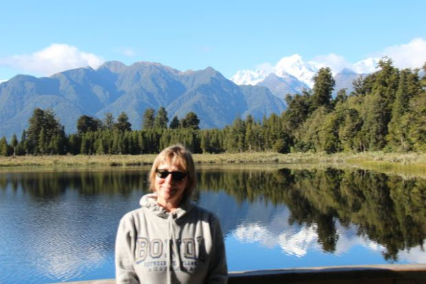 Visiting Lake Matheson on the South Island West Coast