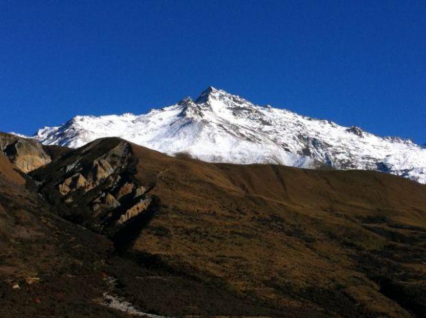 Mount Cook in autumn