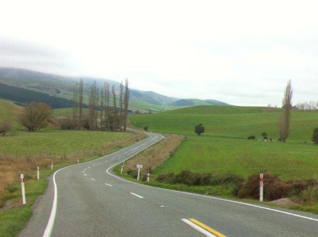 Mount Cook to Christchurch landscape
